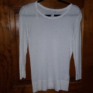 H&M ivory sweater